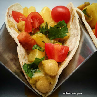 Slow Cooker Spicy Sweet Potato Curry (vegan)
