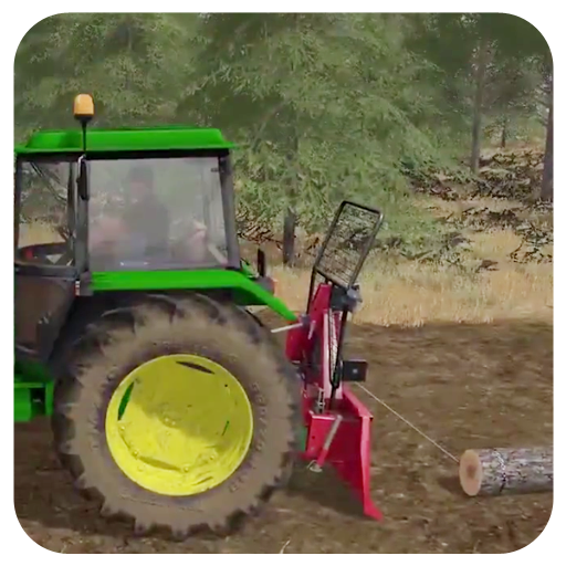 Farming Simulator Winching Trees American Outback