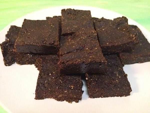 No Bake Raw Vegan Brownies