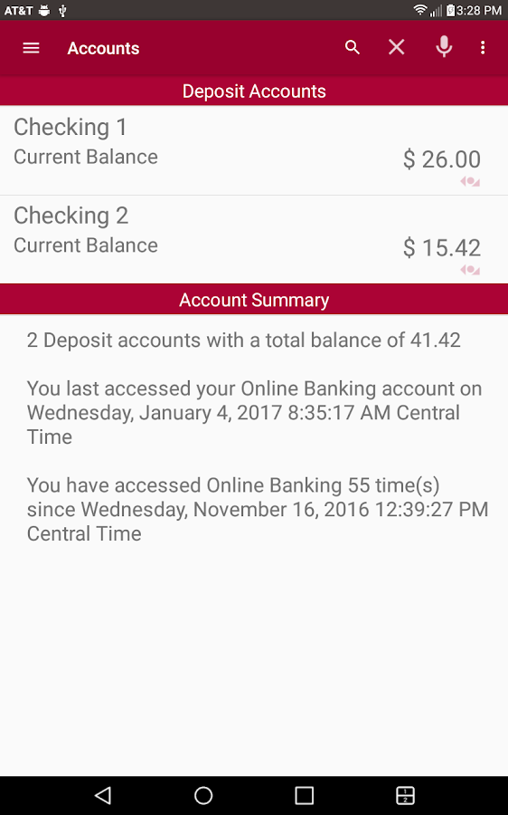 FSCB Mobile Banking- screenshot