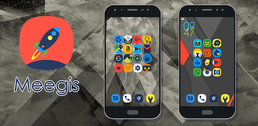 Meegis - Icon Pack Applications pour Android screenshot