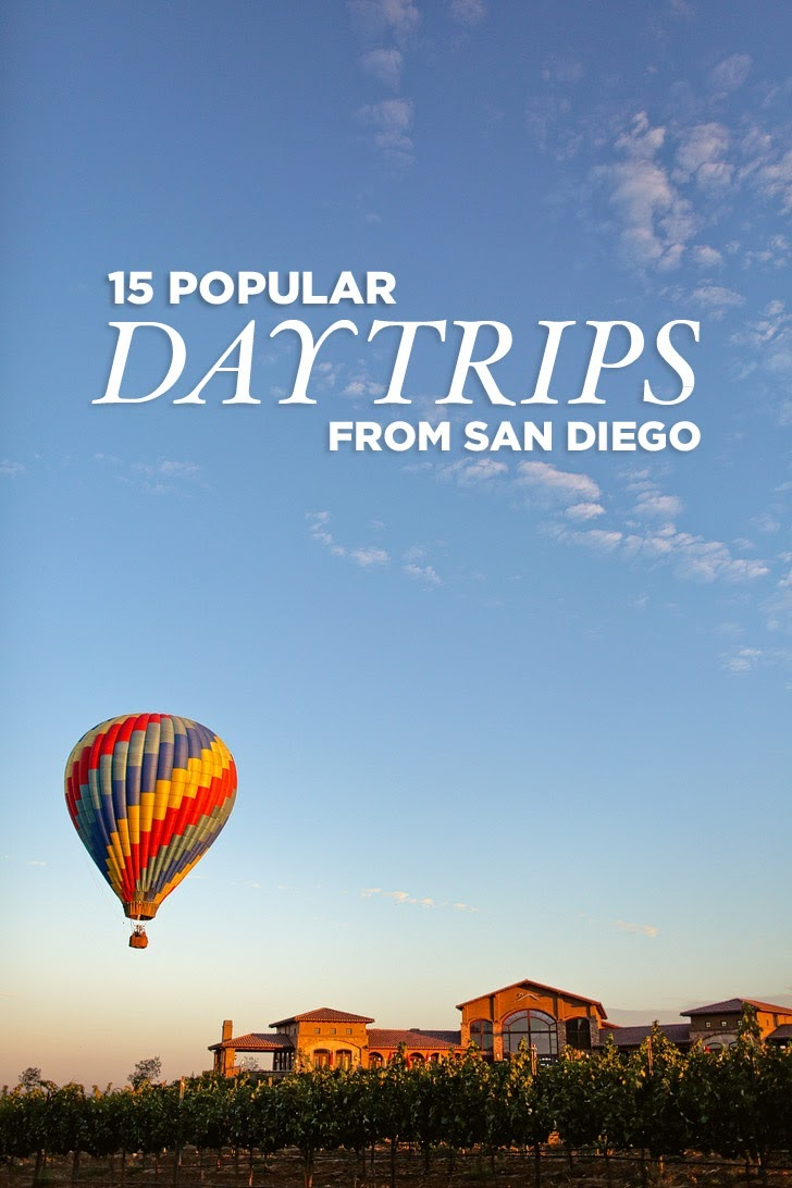 15 Popular Day Trips from San Diego.