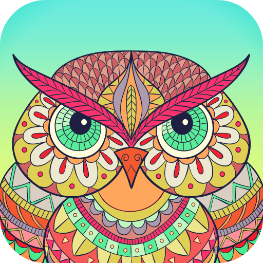 Colory: Adults Coloring Book