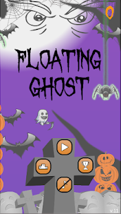 Floating Ghost - Halloween is here - náhled