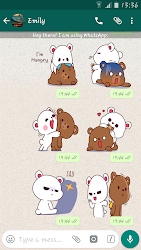 Lovely Bears Stickers For Whatsapp - WASticker APK 3