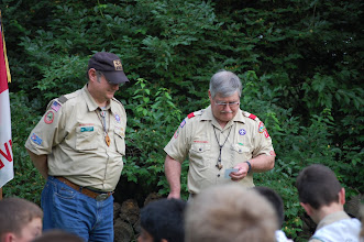 Photo: Pa-Wa-Ka award for Outstanding Service to Scouting in Chillicothe District