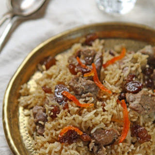 Afghani lamb pulao from Summers Under the Tamarind Tree.