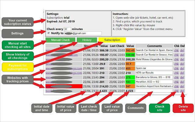 Universal Price Checker - Tracker