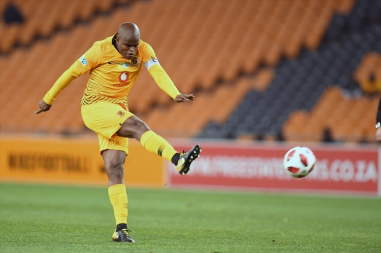 Willard Katsande of Kaizer Chiefs during the MTN 8 quarter final match between Kaizer Chiefs and Free State Stars at FNB on August 11, 2018 in Johannesburg, South Africa.