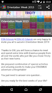 Erasmus ESN Events screenshot 4