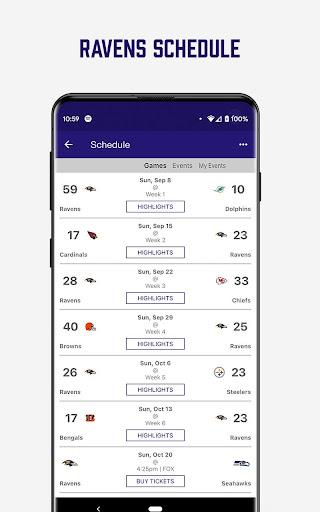 Baltimore Ravens Mobile screenshot 4