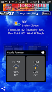 WKBN Weather- screenshot thumbnail