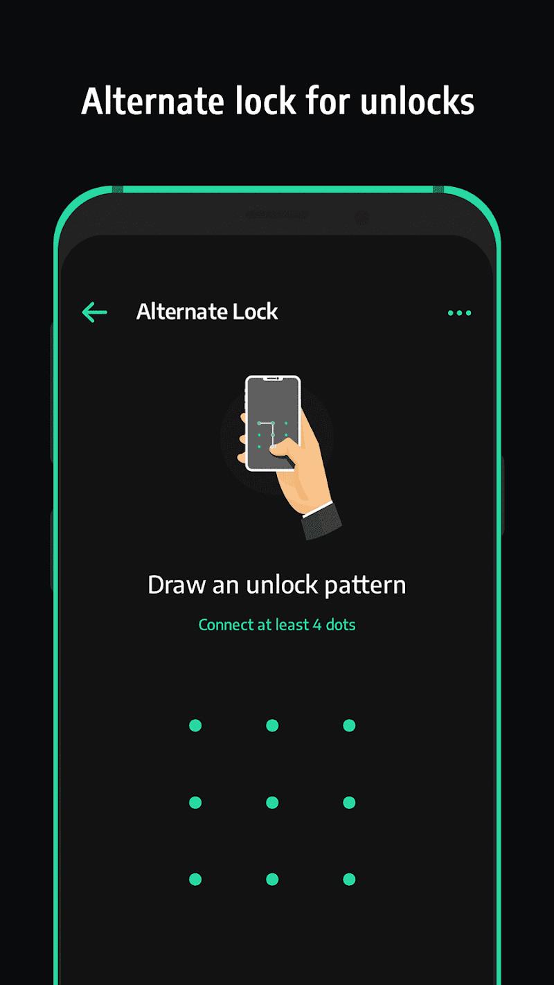 Скриншот Applock with Face