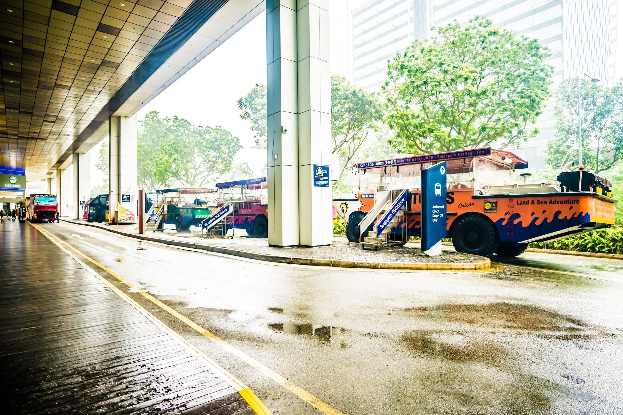 シンガポール ダックツアー