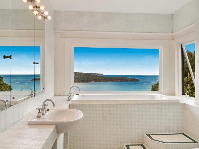 Incredible views — even from the bathroom
