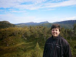 Photo: På fjelltur til Strumpen, Årvåg, den 3. august 2012