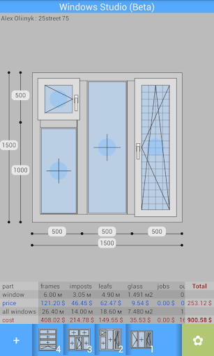 Plastic Windows Calculator V17