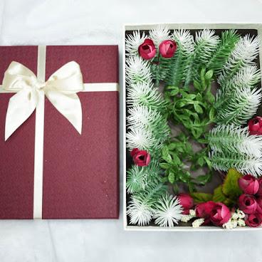 聖誕絹花禮盒 Christmas Gift Box