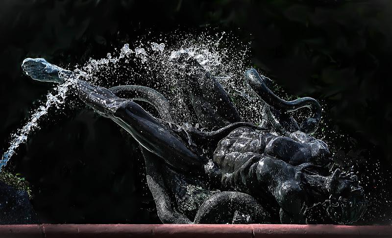 bydgoszcz, deluge fountain di kaos