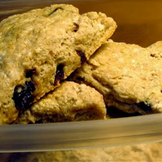 Cardamom and Dried Cherry Scones.