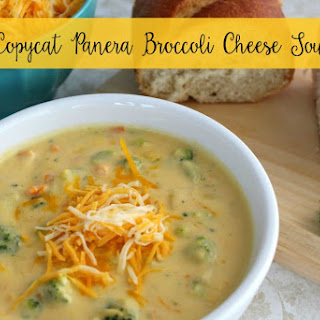 Copycat Panera Broccoli Cheese Soup.