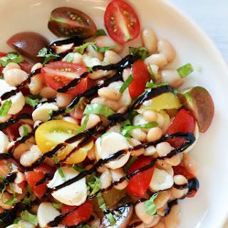 White Bean Caprese Salad.