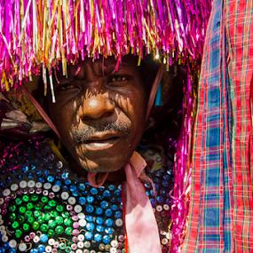 Caboclo de Lança by Claudio Maranhao - People Portraits of Men ( festas, carnaval, pernambuco, maracatu,  )