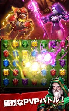 Conqueror & Puzzles : マッチ3 RPGゲームのおすすめ画像5