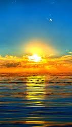 Setting Sun Is Beautiful If