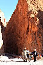 Photo: The gorge of Tinerhir
