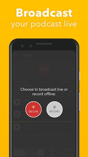 Spreaker Studio - Start your Podcast for Free 1.20.0 screenshots 2