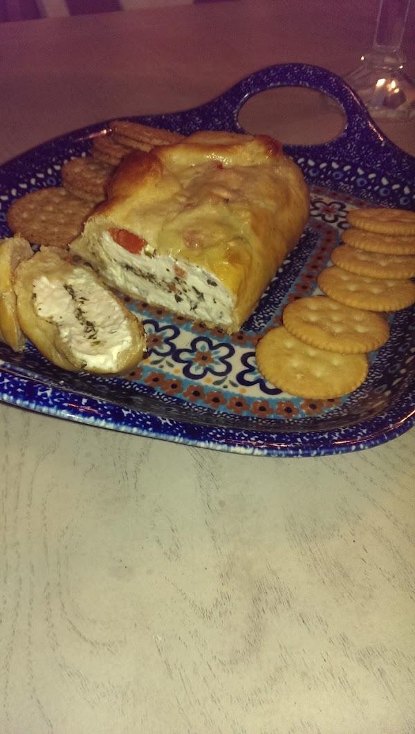 Cheese & Pesto Easy Bake Appetizer Recipe