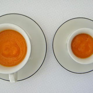 Carrot and Random Vegetable Soup.