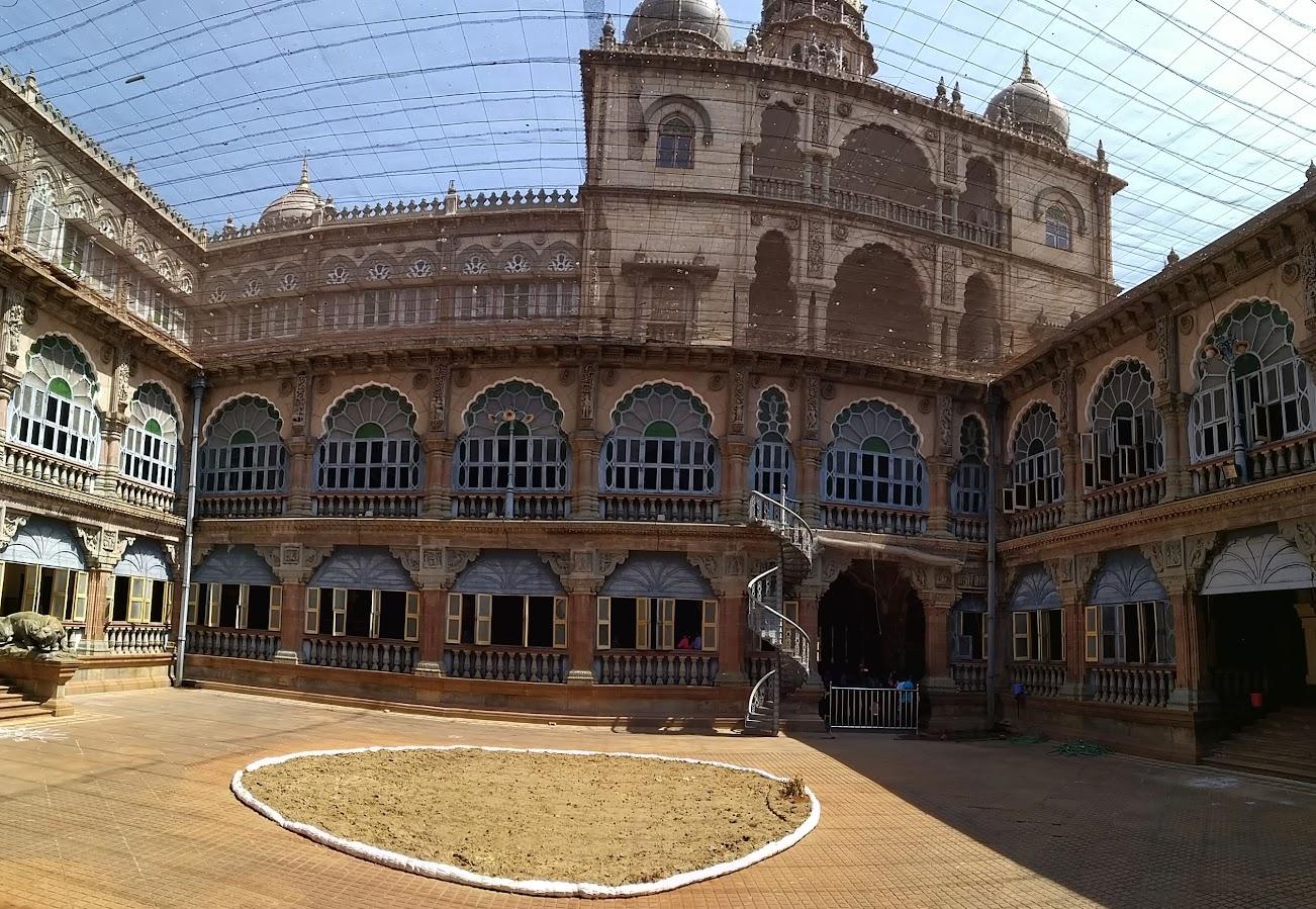 Inside the Mysore Palace