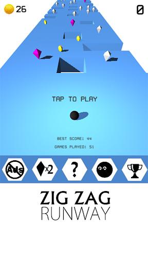 ZIG ZAG RUNWAY- zick zack ball