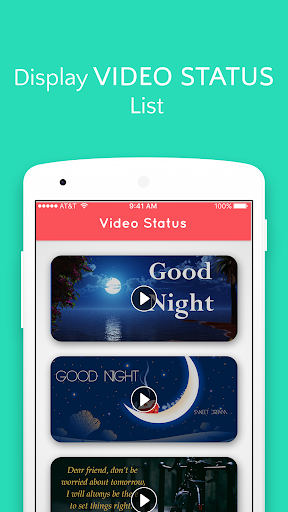 Good Night Video Status 2.0 screenshots 2