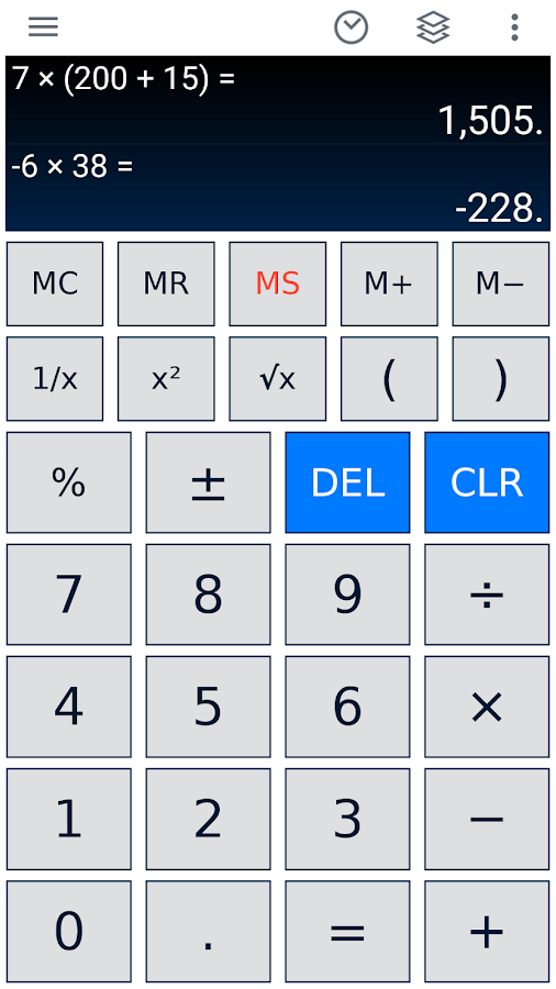Scientific Calculator- screenshot