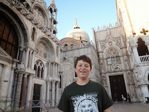 Photo: But first we wanted to go up St Mark's Campanile (bell tower) at sunset