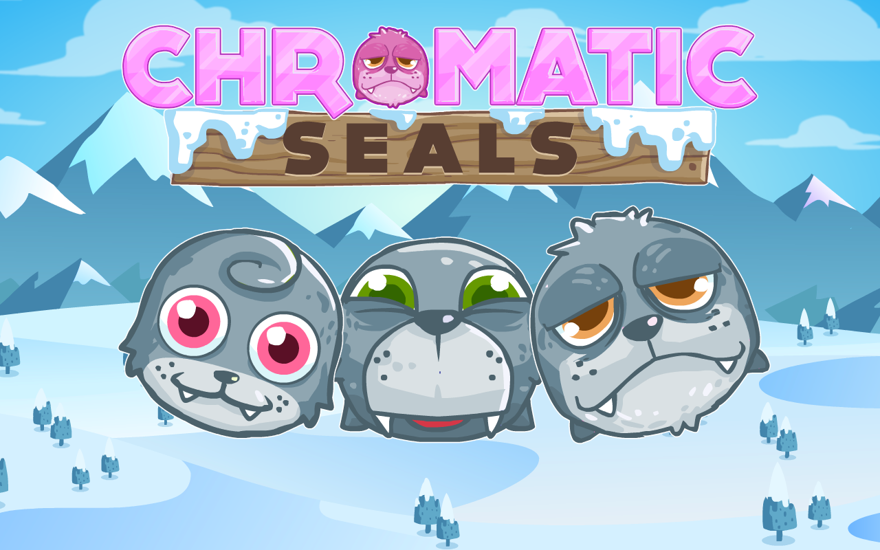 Chromatic Seals - Slicing Fun- screenshot
