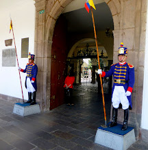 Photo: The new guards in place