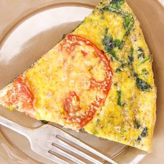 Rachael's Spinach and Feta Frittata.