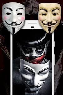Anonymous Mask Photo Editor Free 3
