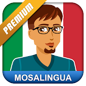 Learn Italian with MosaLingua Icon