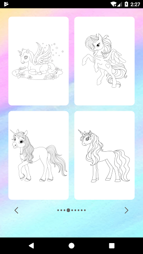 Unicorn Coloring Book for PC