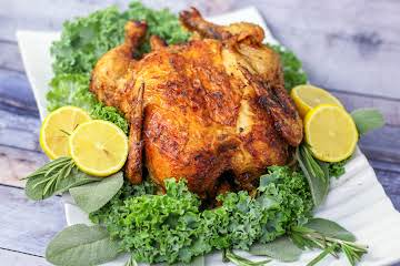 Air Fryer Rotisserie Chicken