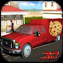 Pizza Delivery Van icon