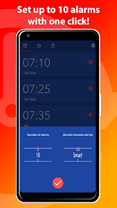 Set multiple alarms with One Click! - OneClock 2.1.3