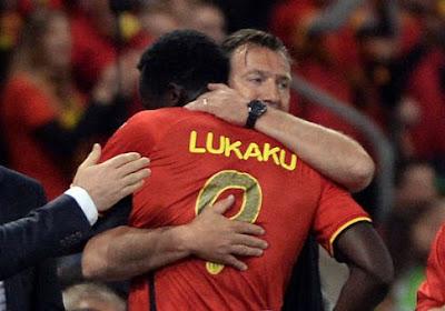 """Wilmots rassure : """"Pas de grosse blessure pour Lukaku"""""""
