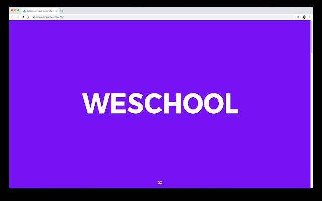 WeSchool Screen Sharing