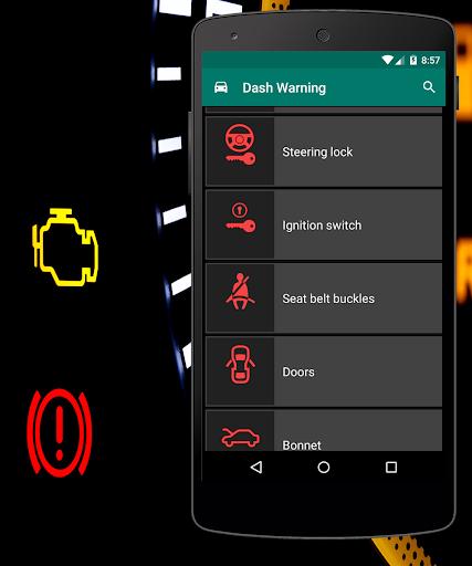 Dashboard Warning Lights Screenshot
